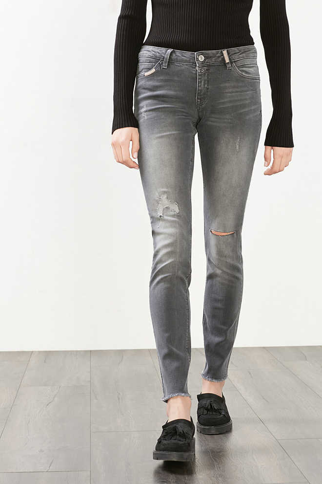 EDC / Distressed stretch jeans