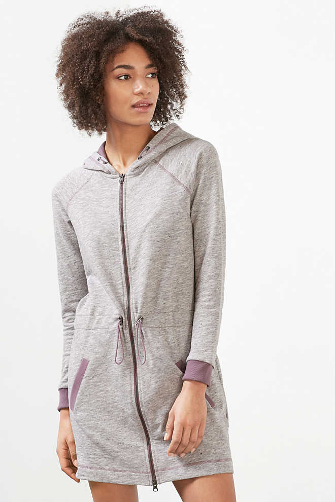 EDC / Long zip-up sweatshirt jacket