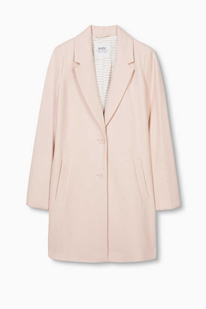 EDC / Blazer coat in a cotton blend
