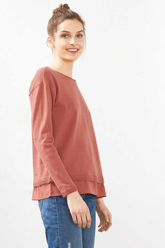 EDC / 2-in-1: jumper with blouse details