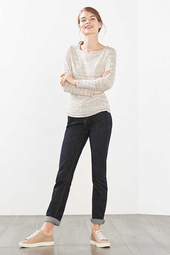 EDC / Long sleeve top in 100% cotton