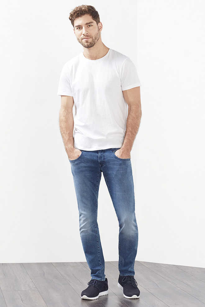 EDC / Stretchjeans i dynamic-denim