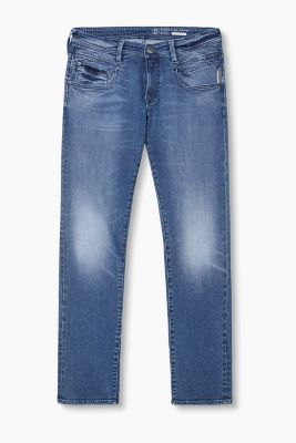 Stretch jeans in dynamic denim