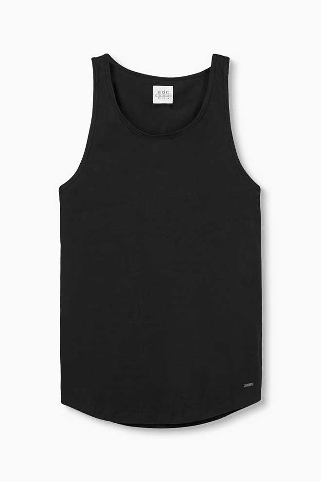 EDC / Jersey tank in 100% cotton