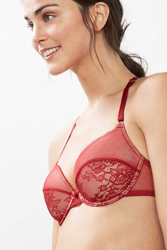 EDC / Padded underwire bra with lace
