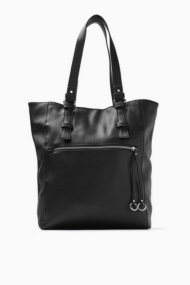 Esprit / Soft, smooth imitation leather shopper