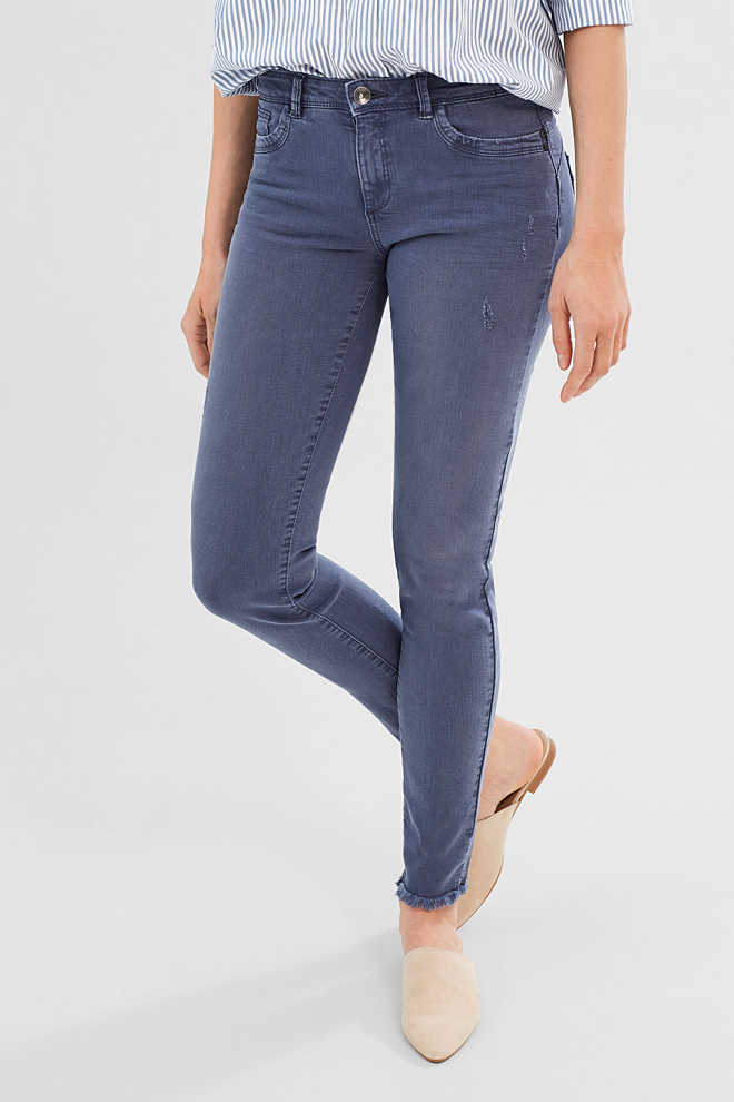 Esprit / Jean stretch authentique de look usé