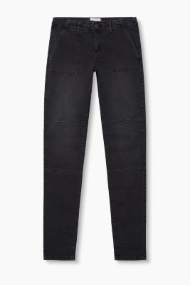 Softe Stretch-Pants im Biker-Look