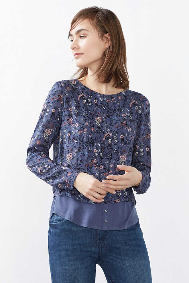 Esprit / Flowing 2-in-1 blouse