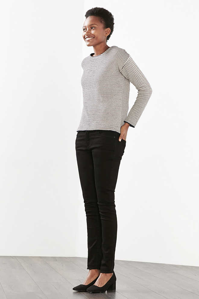 Esprit / Densely knitted jumper, blended cotton