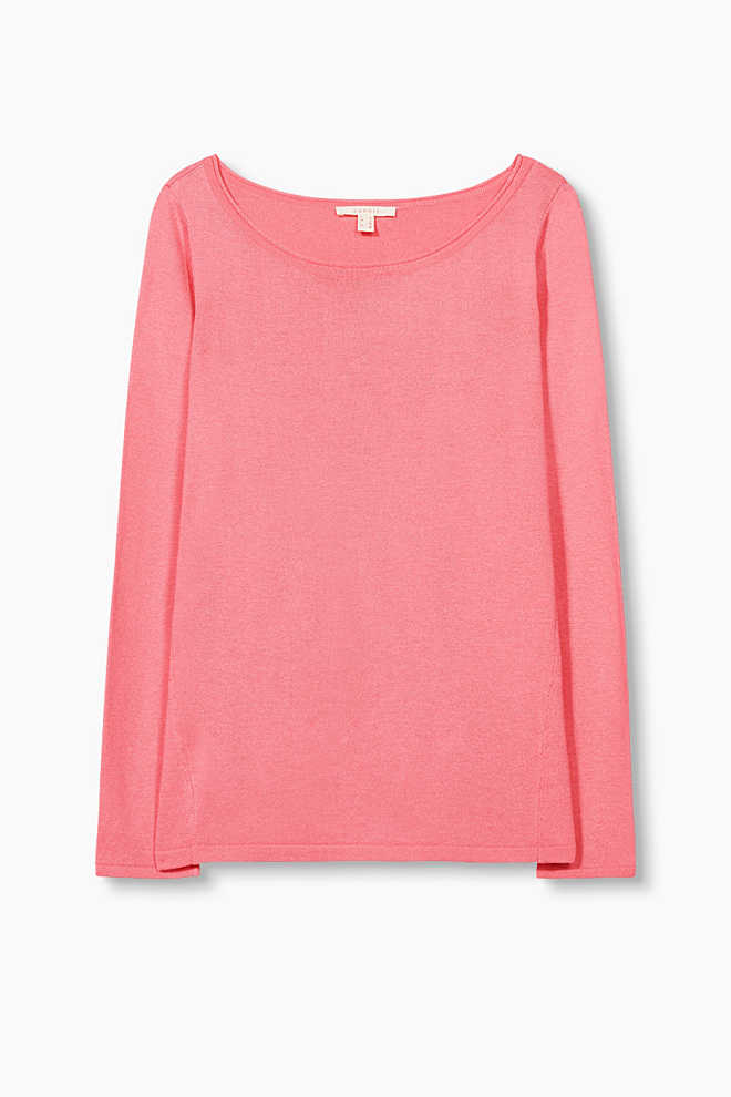 Esprit / Melange jumper in soft fine knit