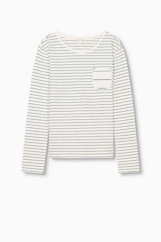 Esprit / Long sleeve top in 100% cotton