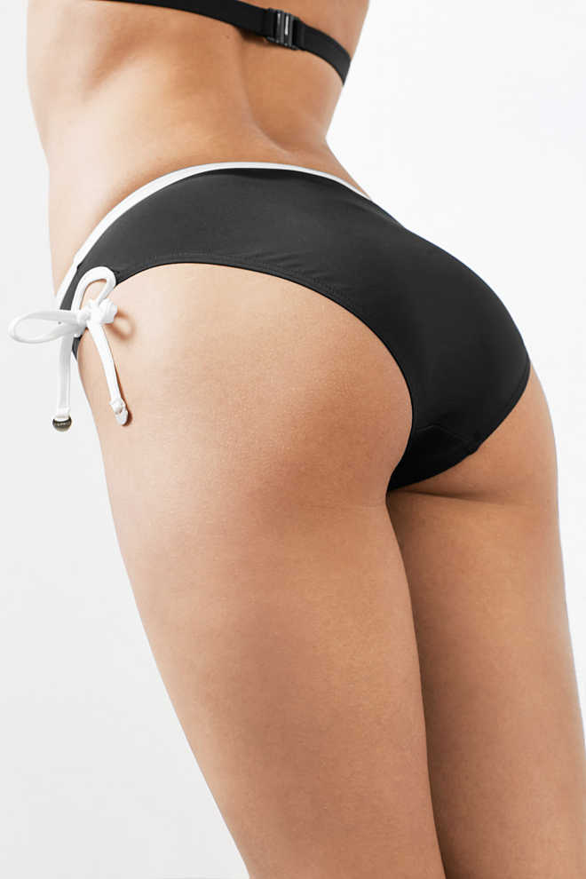 Esprit / Bikini bottoms with a side cut-out