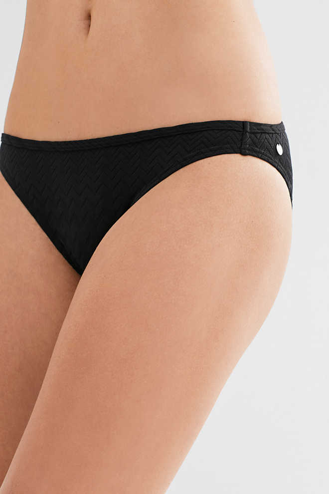 Esprit / Mini briefs with a tonal jacquard pattern
