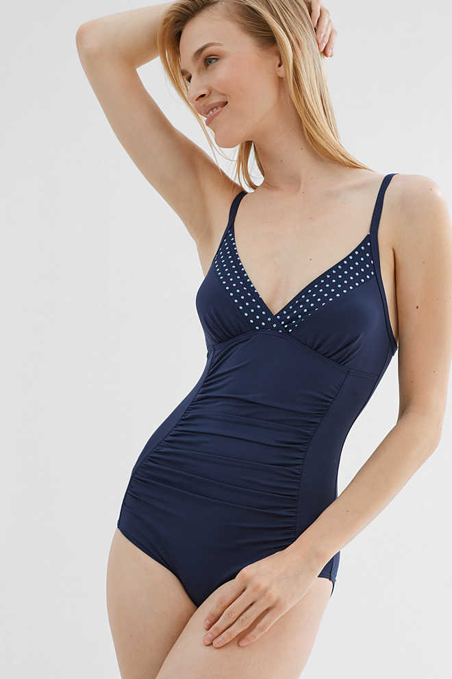 Esprit / Padded, body shaping swimsuit
