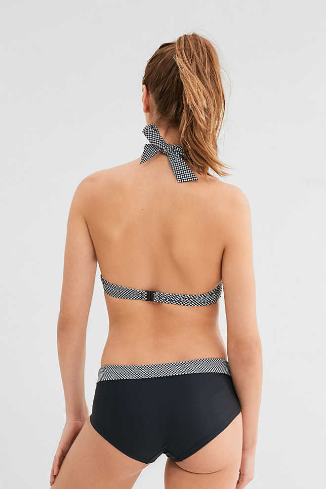 Esprit / Wattierter Bandeau-BH in Butterfly-Form