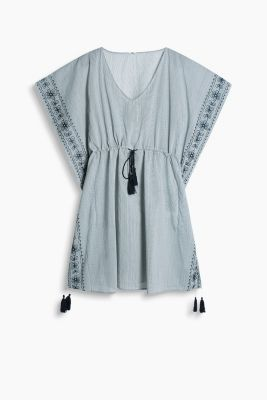 Embroidered tunic, 100% cotton