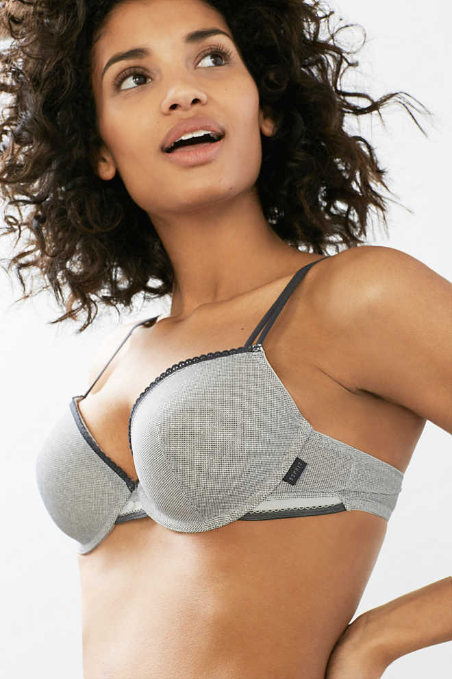Esprit / Padded bra with multi-way straps