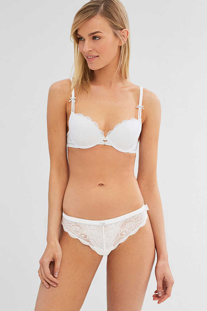 Esprit / Underwire bra with multiway straps