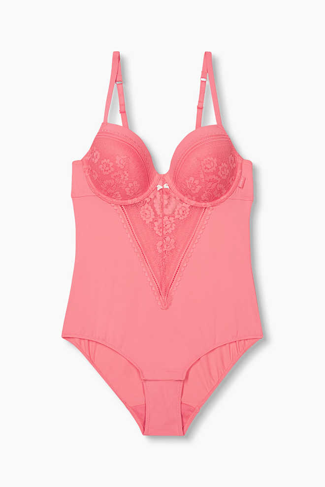Esprit / Body with a padded underwire bra and lace