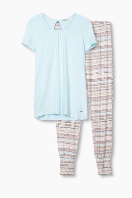 Stretch jersey pyjamas