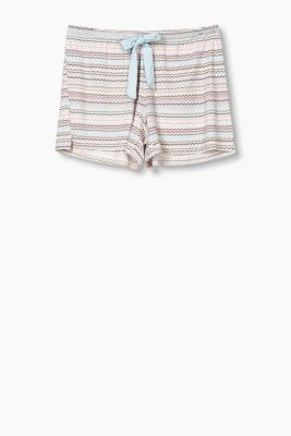 Flowing jersey shorts with stretch