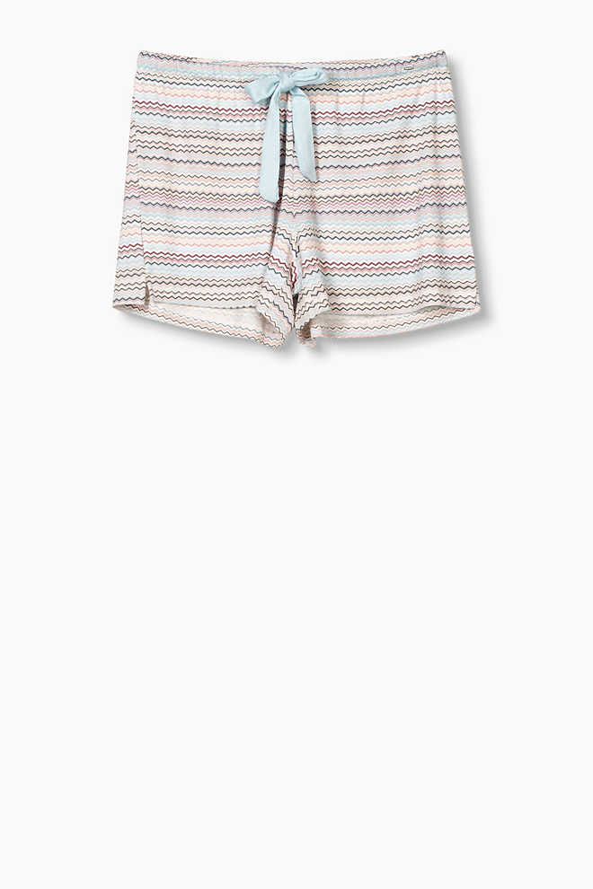 Esprit / Fließende Jersey-Shorts mit Stretch