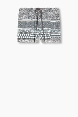 Pyjama shorts with an all-over floral print