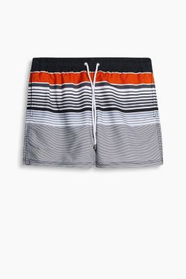 Swim shorts with various stripes