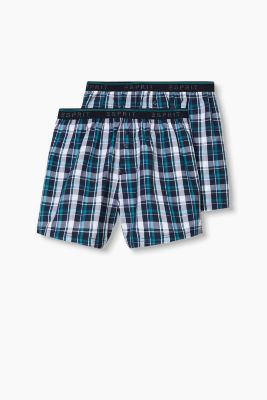 Double pack of shorts, 100% cotton