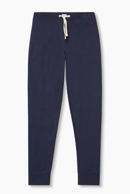 Jersey trousers in 100% cotton