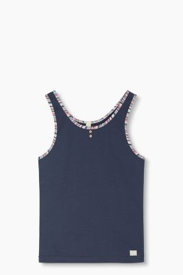 Tank-Top aus Baumwoll-Stretch