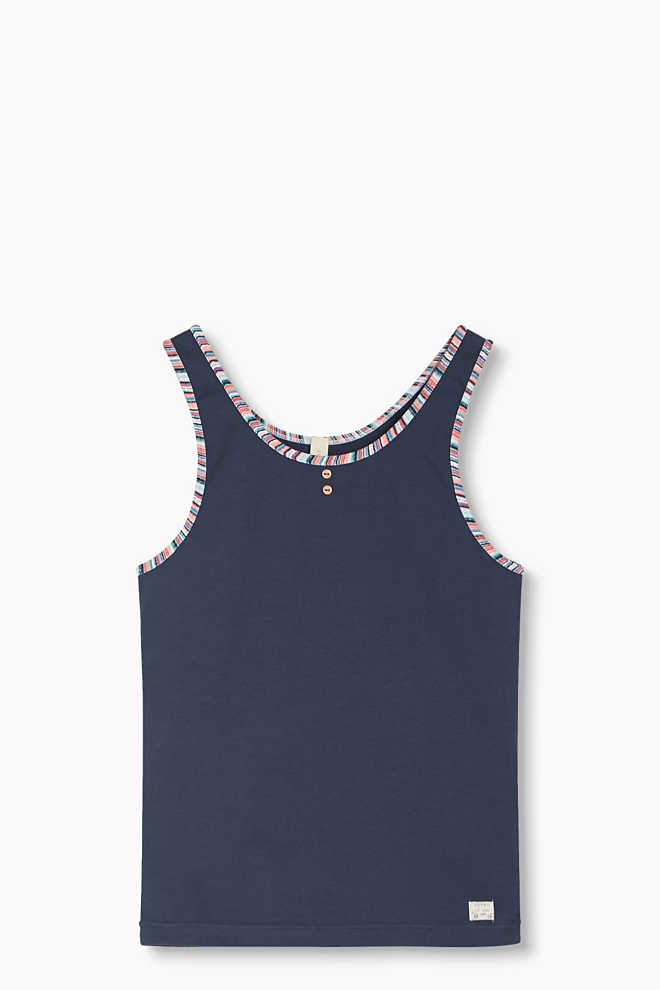 Esprit / Tank-Top aus Baumwoll-Stretch