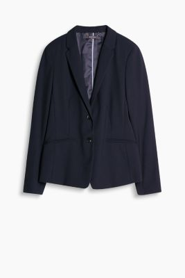 Taillierter Stretch-Blazer im Business-Look