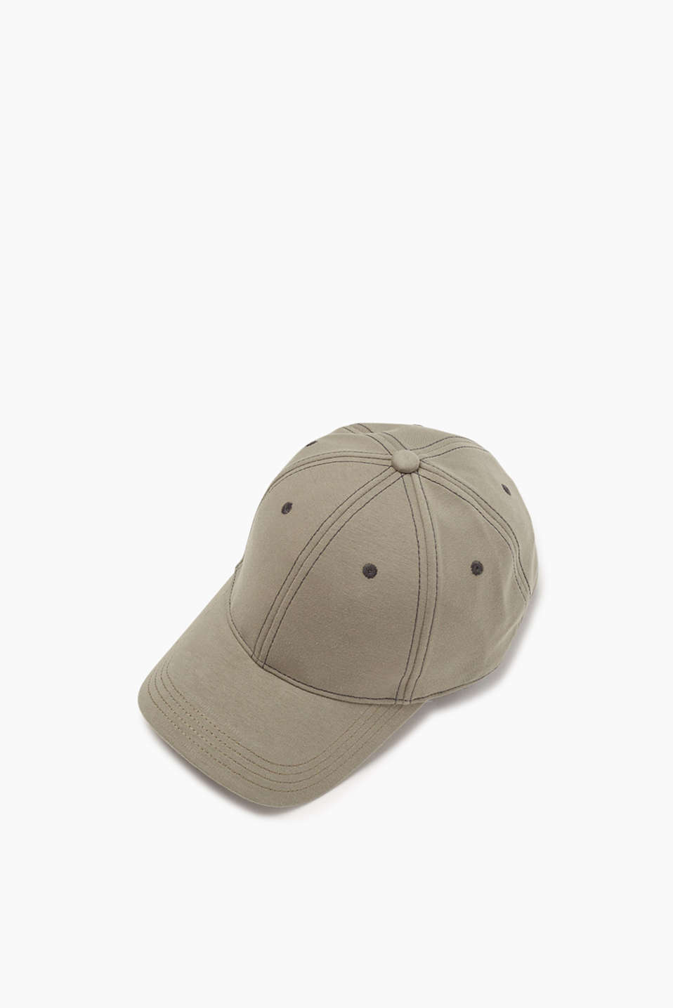 Baseball cap in cotton sweat fabric for your urban look