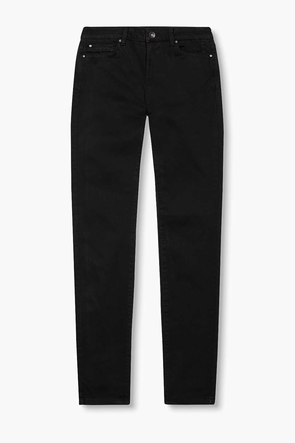 Basic trousers in a five-pocket design