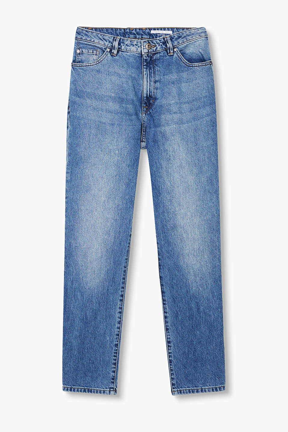 Super trendy mom jeans in a relaxed fit with a high waistband