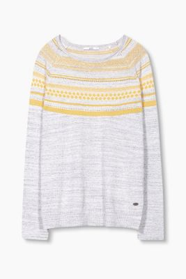 Softer Jacquard-Pullover