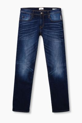 Five-pocket stretch denim jeans