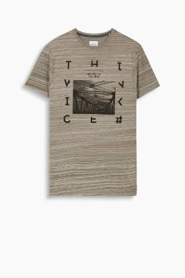 Cotton jersey print T-shirt