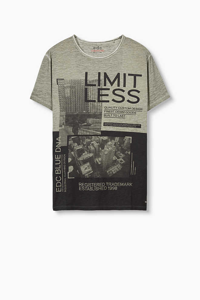 EDC / Jersey T-shirt with a photo print