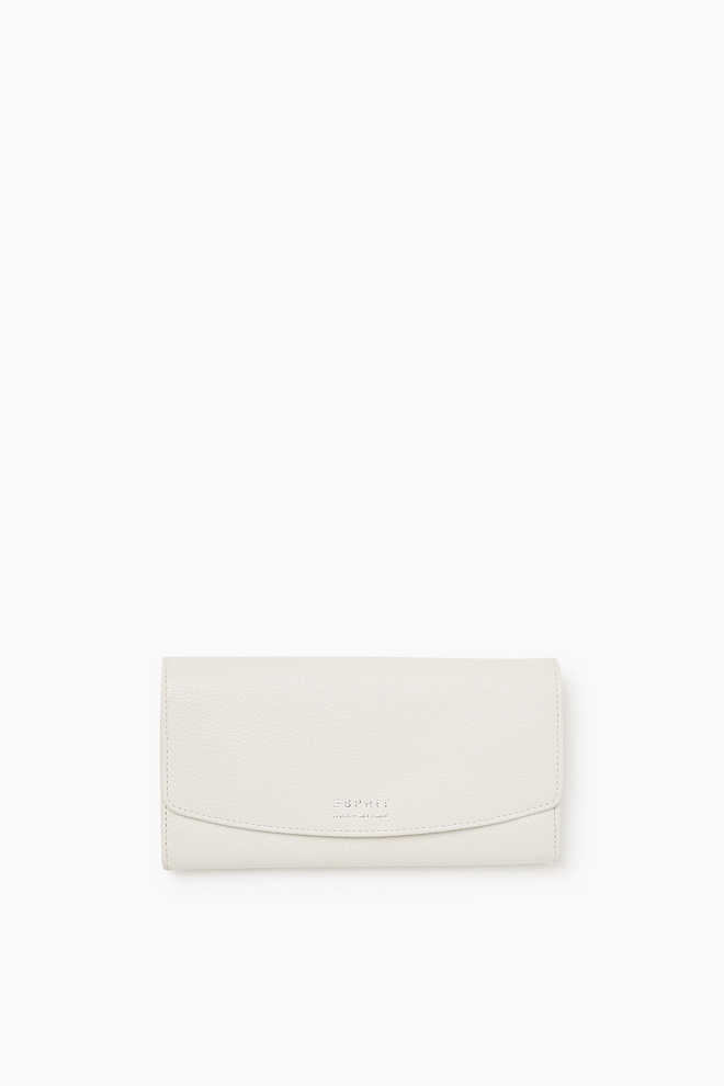 Esprit / Wallet in cowhide leather
