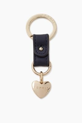 Keyring with heart charm