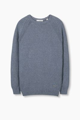 Strick-Pullover aus Recycled Cotton