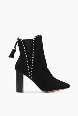Ankle boots in soft suede