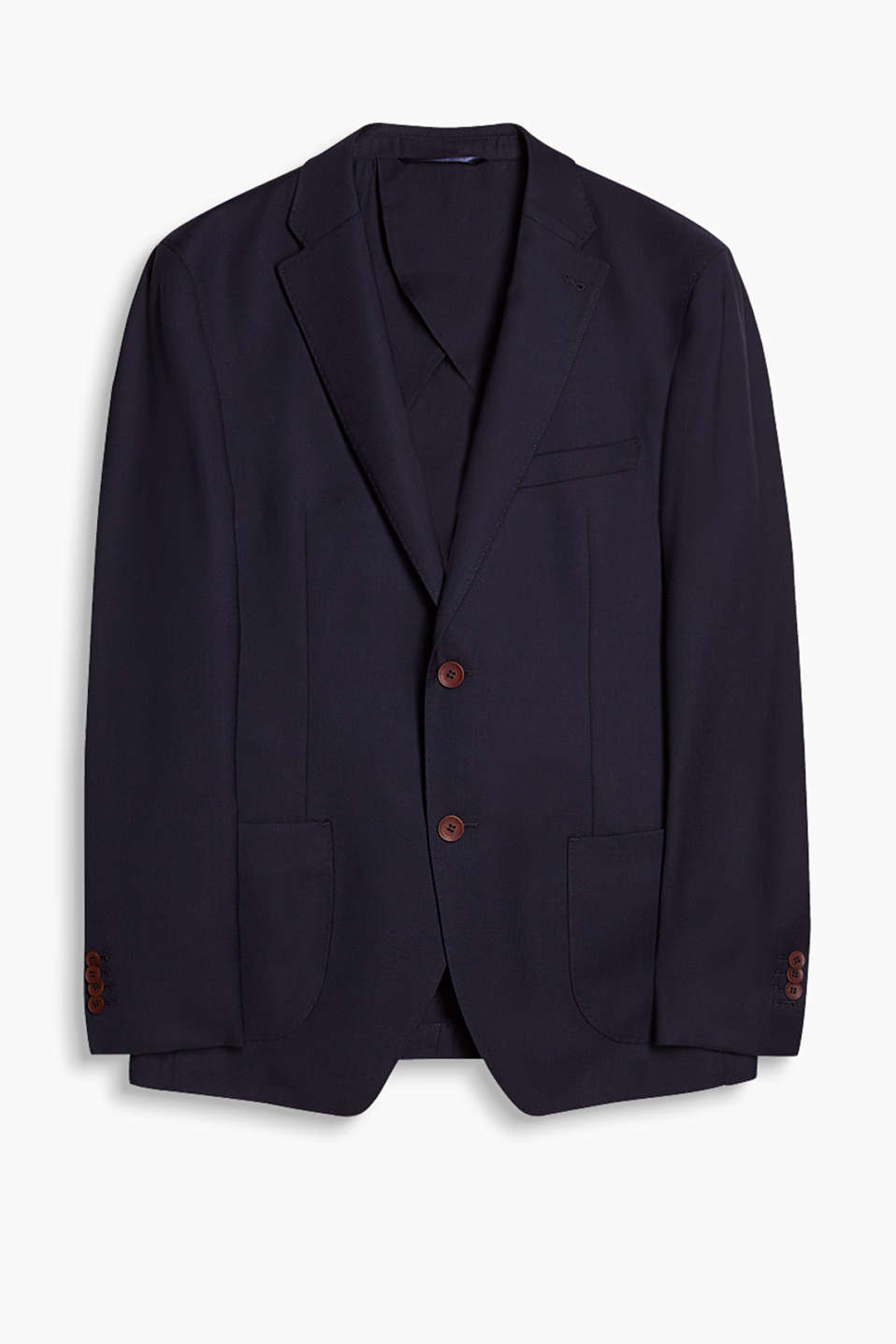 Sports jacket in a timeless design with patch pockets