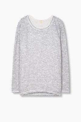 2in1: Longsleeve mit Tank Top