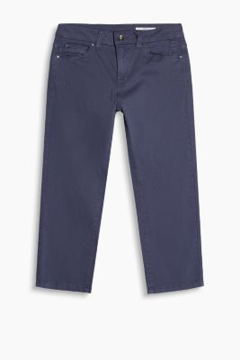 Basic Capri aus Baumwolle-Stretch