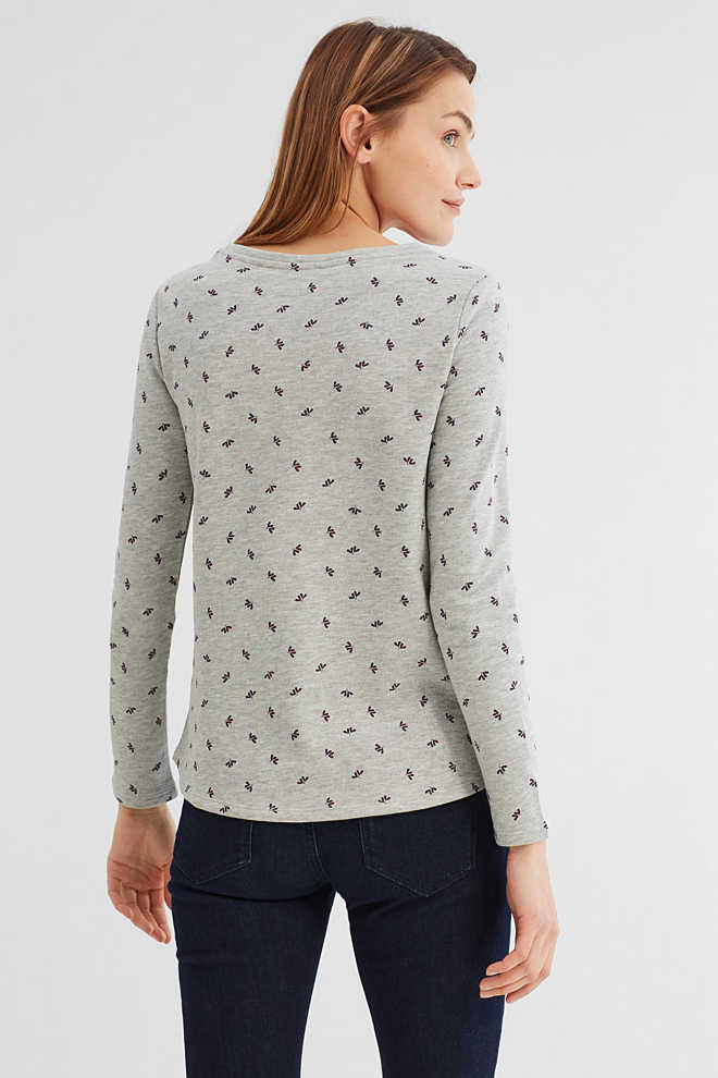 EDC / Sweatshirt met print all-over