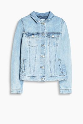 Veste cintrée en denim stretch